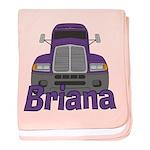 Trucker Briana baby blanket
