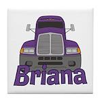 Trucker Briana Tile Coaster