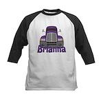 Trucker Brianna Kids Baseball Jersey