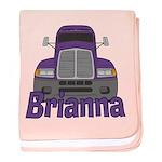 Trucker Brianna baby blanket