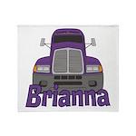 Trucker Brianna Throw Blanket