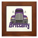 Trucker Brittany Framed Tile