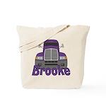 Trucker Brooke Tote Bag