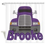 Trucker Brooke Shower Curtain