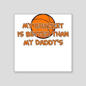 Bracket Daddy Square Sticker