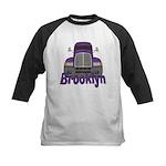 Trucker Brooklyn Kids Baseball Jersey