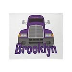 Trucker Brooklyn Throw Blanket