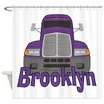 Trucker Brooklyn Shower Curtain