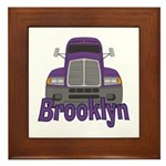Trucker Brooklyn Framed Tile