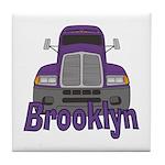 Trucker Brooklyn Tile Coaster