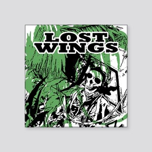LOST WINGS Square Sticker