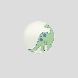 Happy Baby Dinosaur Mini Button