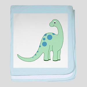 Happy Baby Dinosaur baby blanket