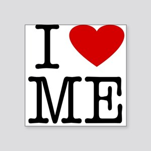 I Love Maine (ME) Square Sticker