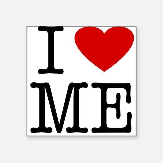 I Love Maine (ME) Square Sticker