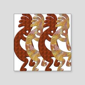 KOKOPELLI ROCK ART Square Sticker