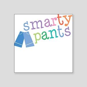 Smarty Pants Square Sticker