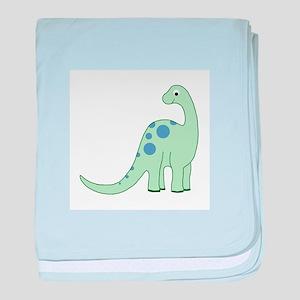 Happy Baby Dinosaur Smaller baby blanket