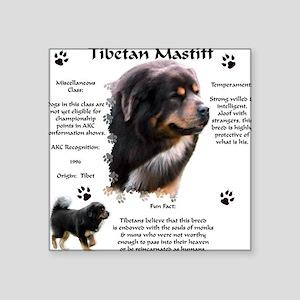 Tibetan 1 Square Sticker