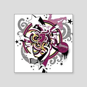 Break-dancers Square Sticker