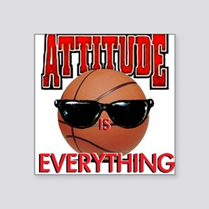 Attitude is Everything Square Sticker