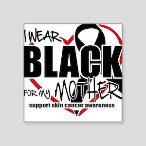 SK: Black for Mother Square Sticker