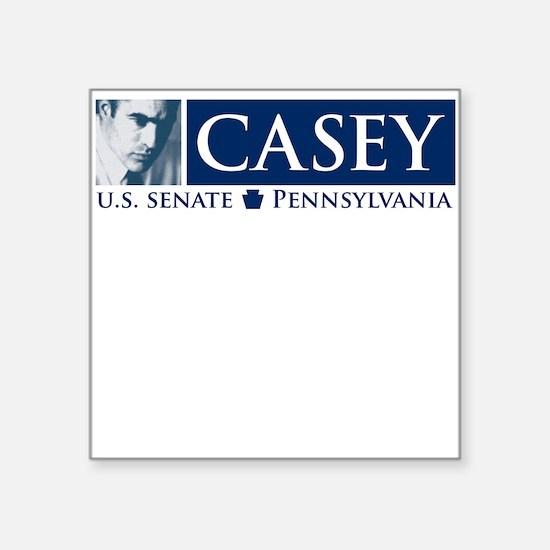 Bob Casey for US Senate Square Sticker