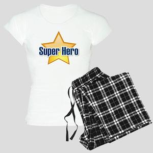Super Hero Star Women's Light Pajamas