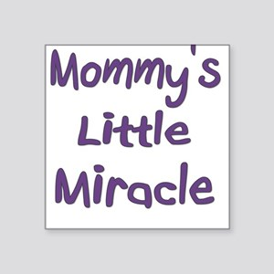 Little MIracle Square Sticker