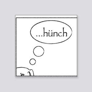 Hunch Square Sticker