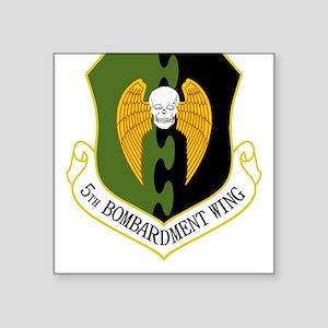 5th Bomb Wing Square Sticker