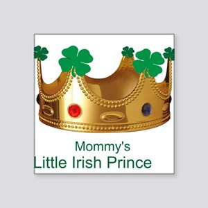 Irish Prince/Mommy Square Sticker