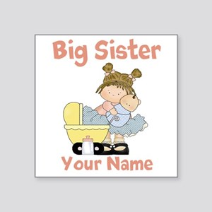 Big Sister Custom Square Sticker