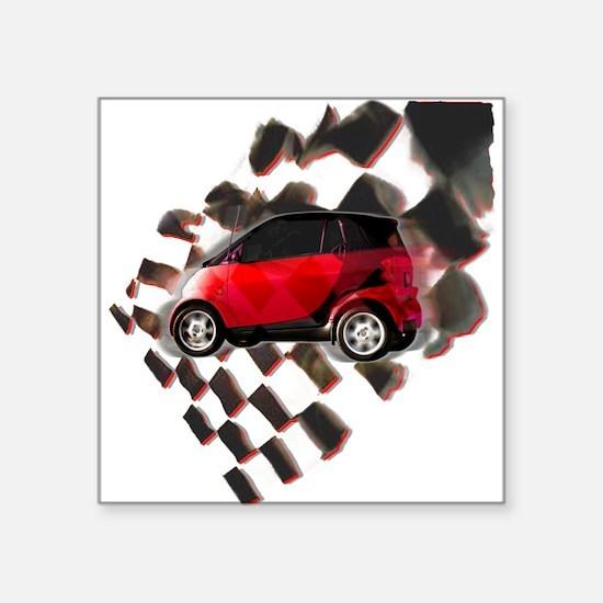 Fit Moto Square Sticker