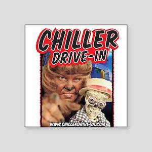 Chiller Drive-In - Mac & Boney - Square Sticker