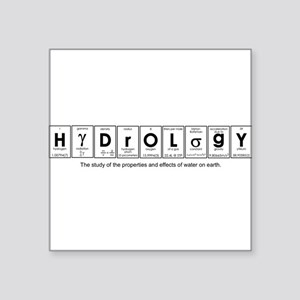 HYDROLOGY Square Sticker