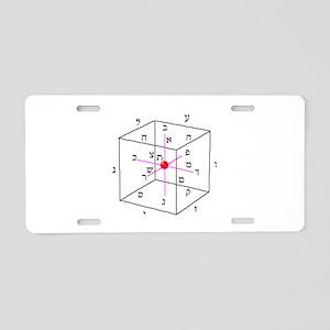 cubeofspace_1043 Aluminum License Plate