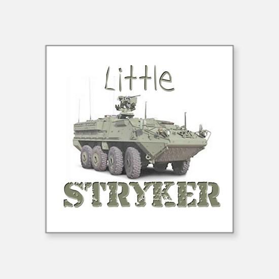 """""""Little Stryker"""" Square Sticker"""