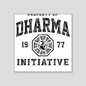 Dharma Faded Square Sticker