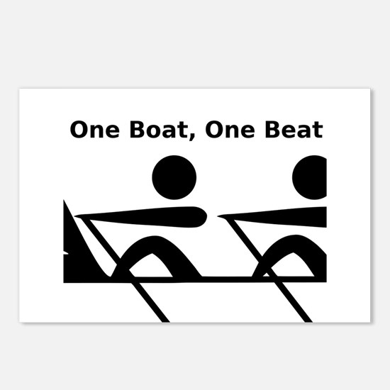 One Boat, One Beat Postcards (Package of 8)