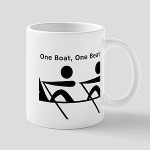 One Boat, One Beat Mug