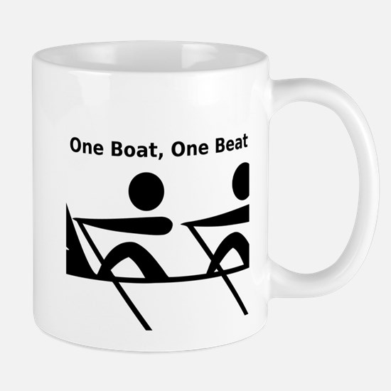 One Boat, One Beat Mug