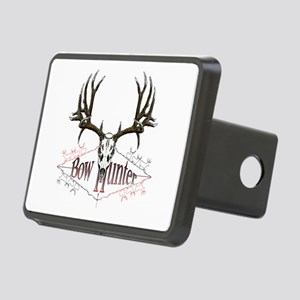 Bow hunting,deer skull Rectangular Hitch Cover
