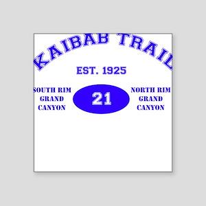 Kaibab Trail Square Sticker