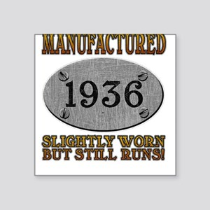 Manufactured 1936 Square Sticker