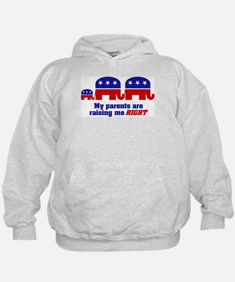 Parents are Raising Me Right Hoodie