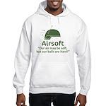 Hard Balls - OD Hooded Sweatshirt