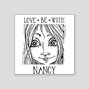 NANCY Square Sticker