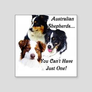 Aussie Group Square Sticker