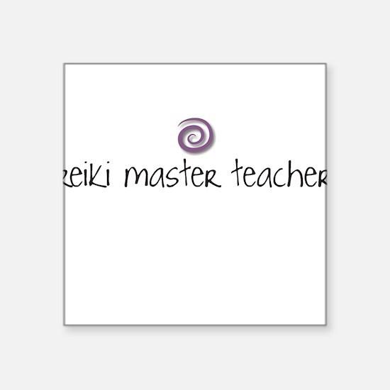 Reiki Master Teacher Square Sticker